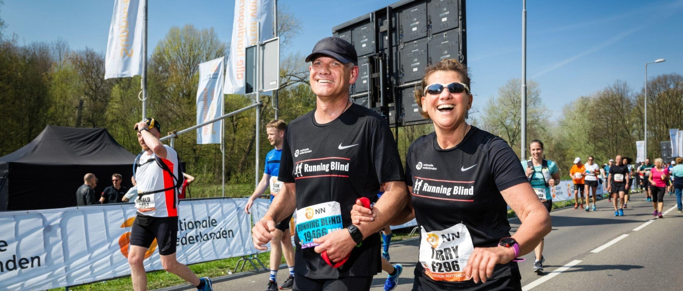NN Zevenheuvelenloop decor voor eerste NK Running Blind