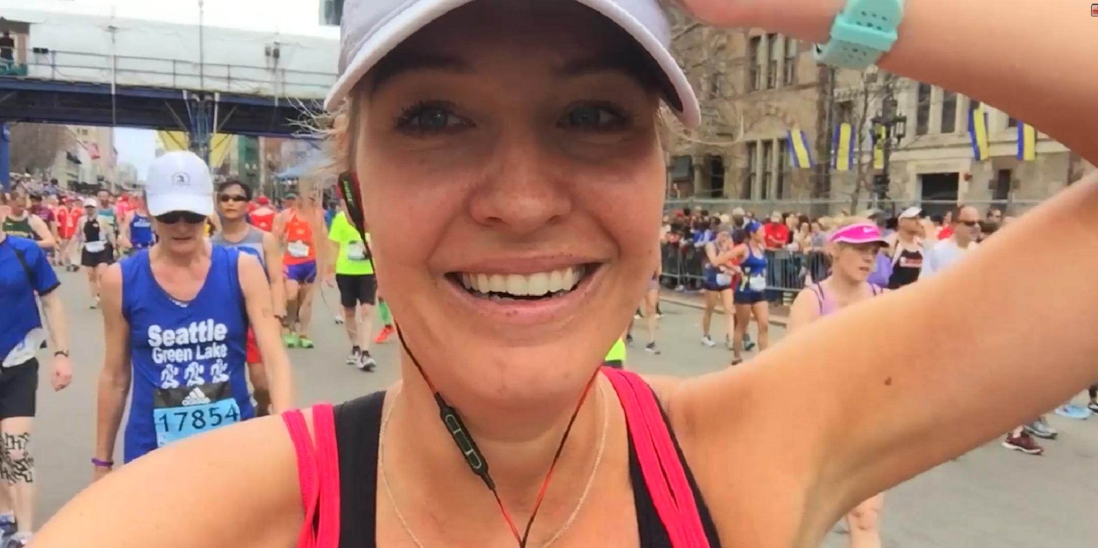 Beleef de Boston Marathon van Annemerel!