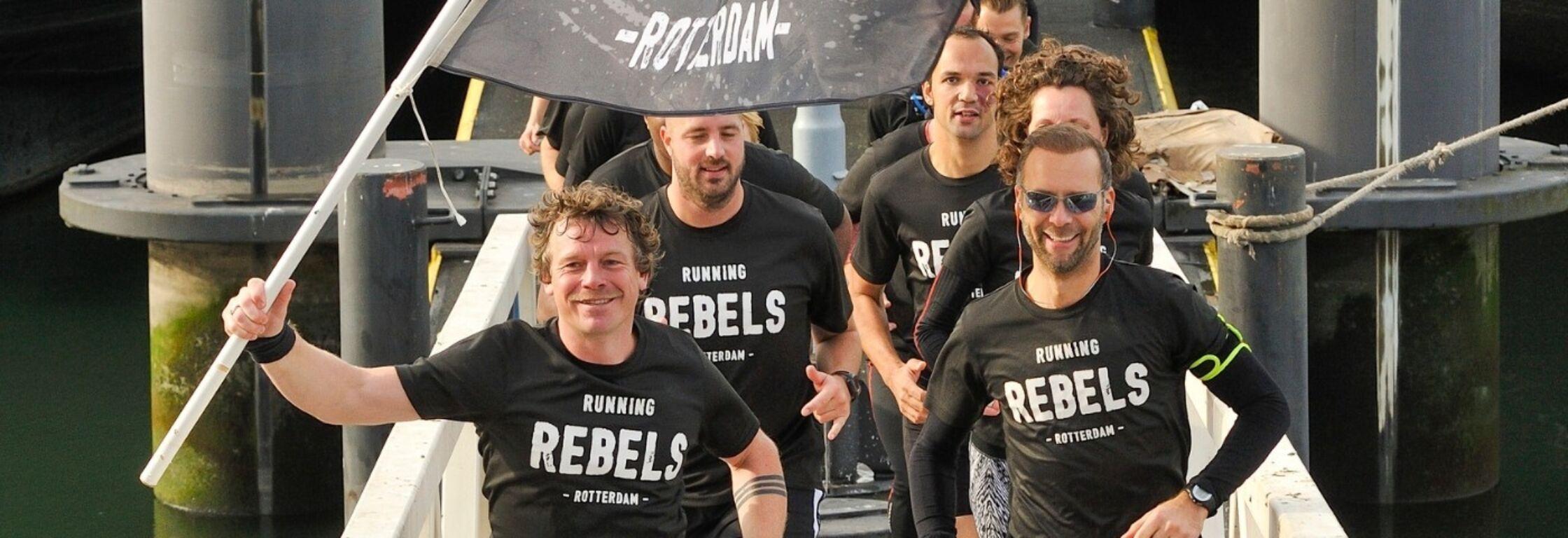 Dimitri Overbeeke: 'Eigenwijze Running Rebel'