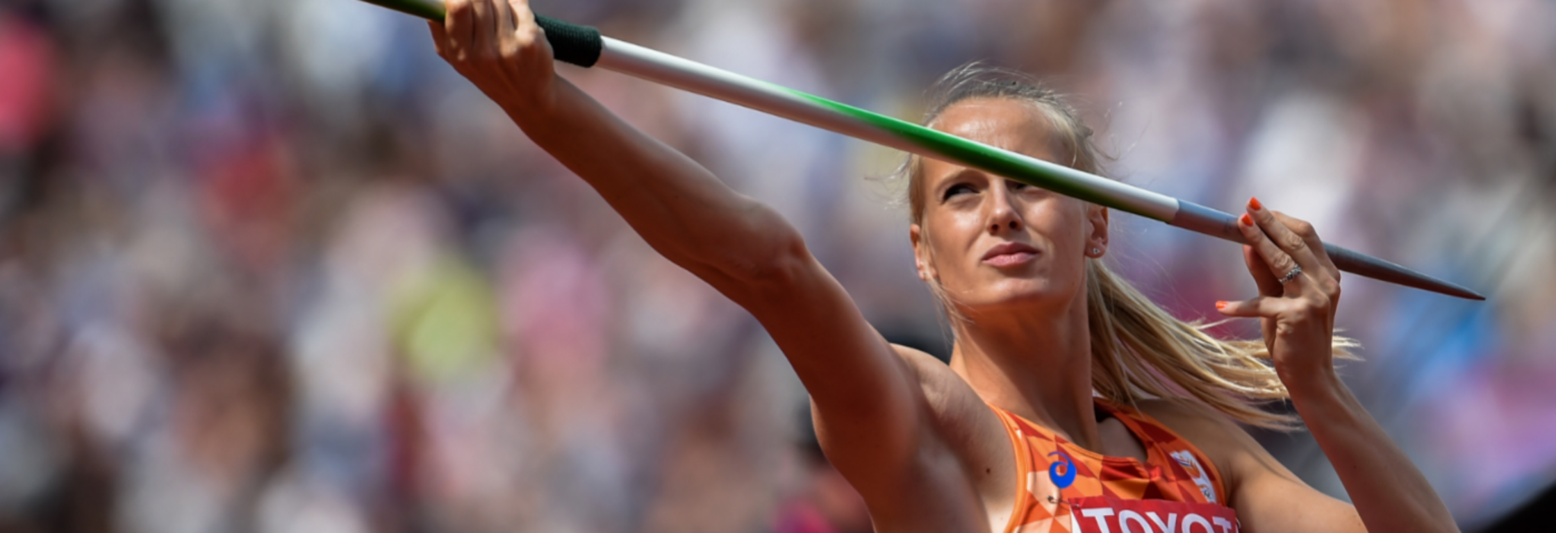 Anouk Vetter: 'Get your game face on!'