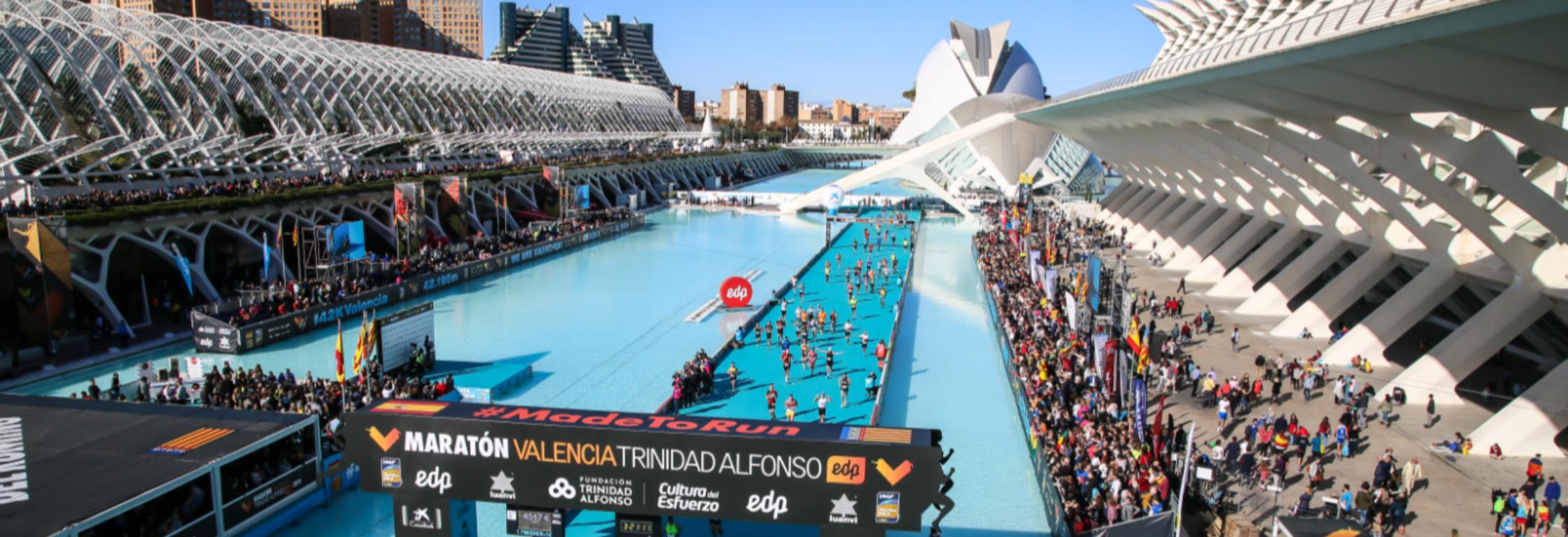 5 redenen om de Valencia Marathon te lopen