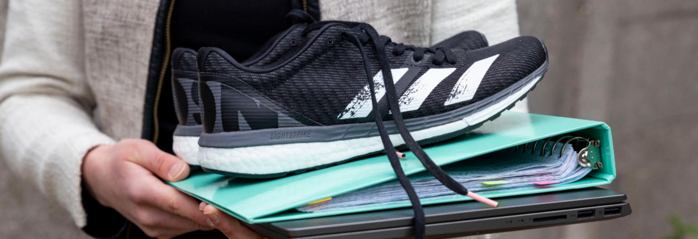 Hoe hardlopen je door je werkdag heen helpt