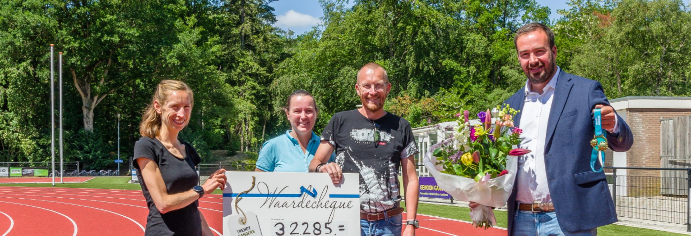 CoronaRUN: € 32.285 bij elkaar gelopen voor het Nationaal Ouderenfonds