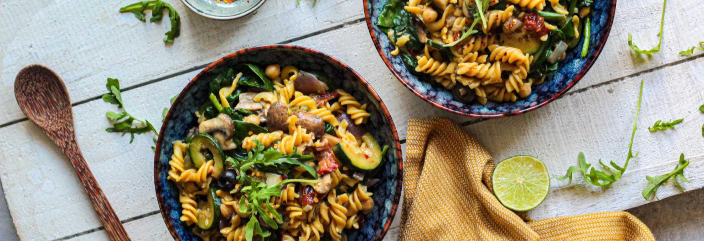 Eiwitrijke home-made pastasaus