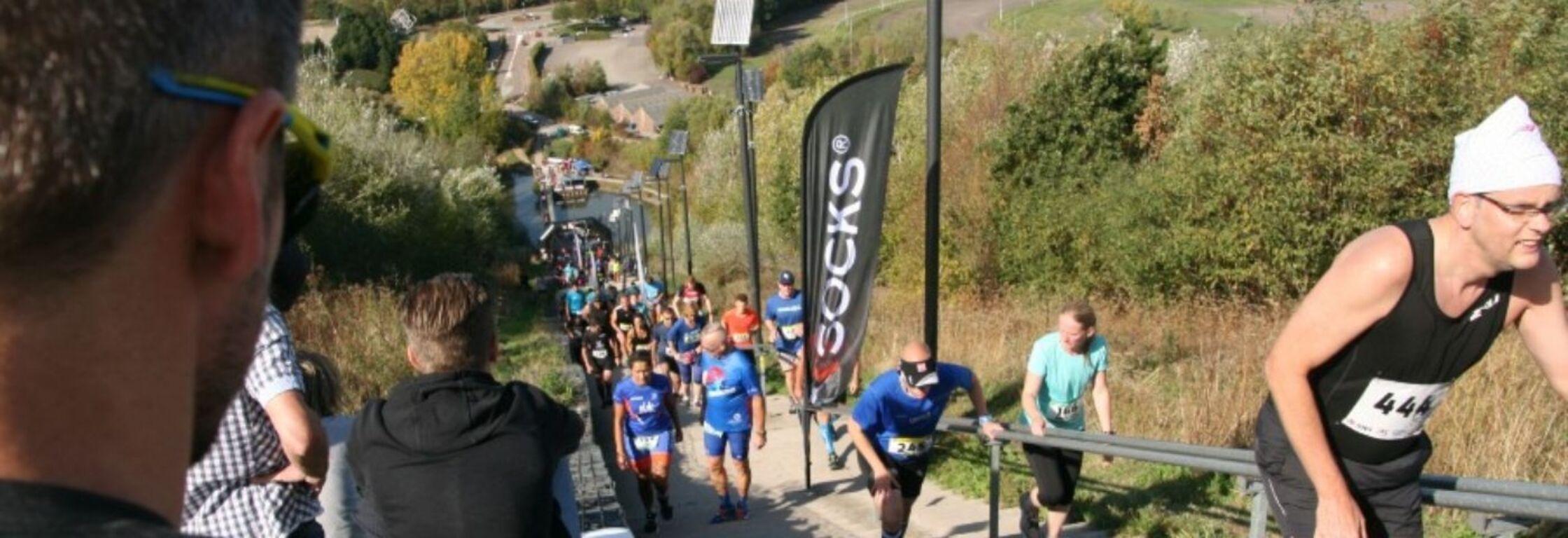 Wilhelminaberg Trappenmarathon is de zwaarste marathon van Nederland