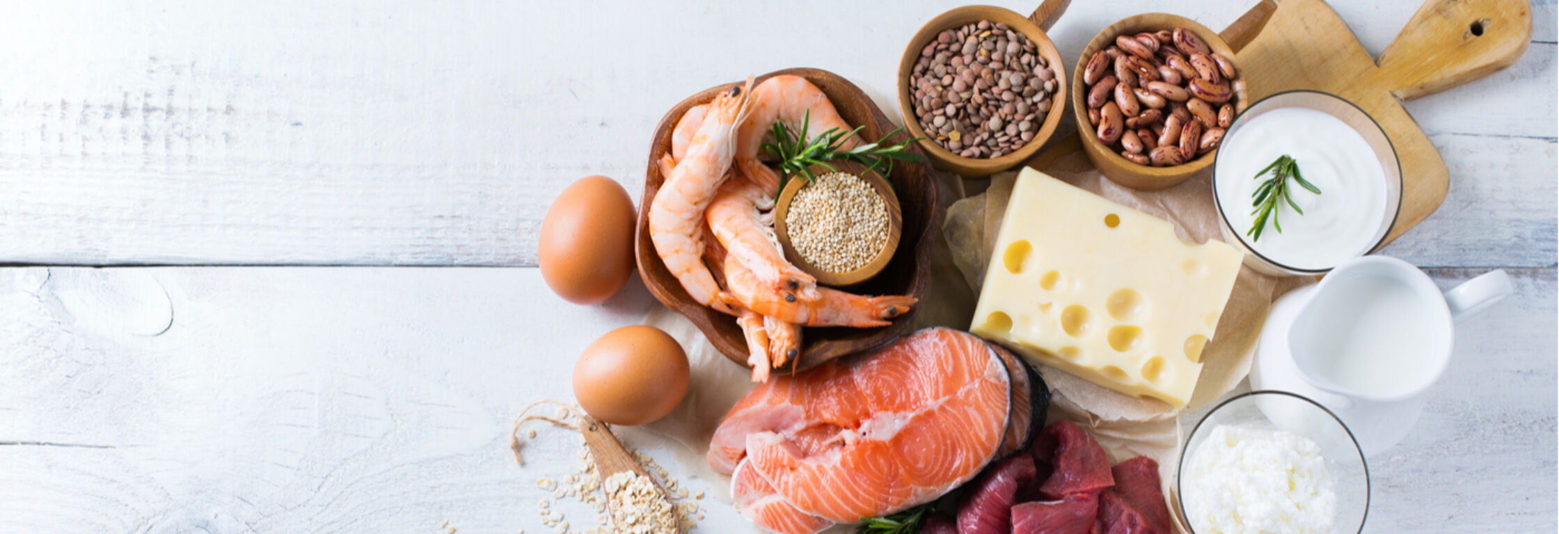Eiwitten aanvullen: hoe te verwerken in de hoofdmaaltijden?