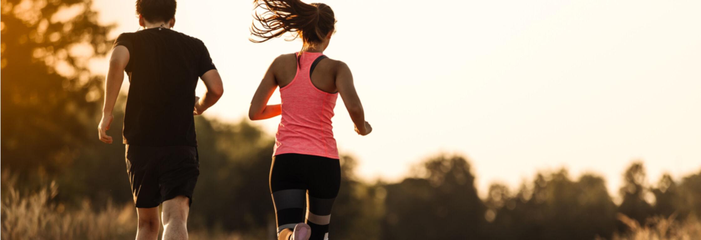 Samen hardlopen is leuk, ook bij grote niveauverschillen