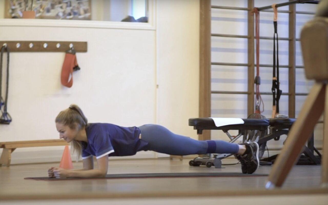 De plank voor je hele lichaam