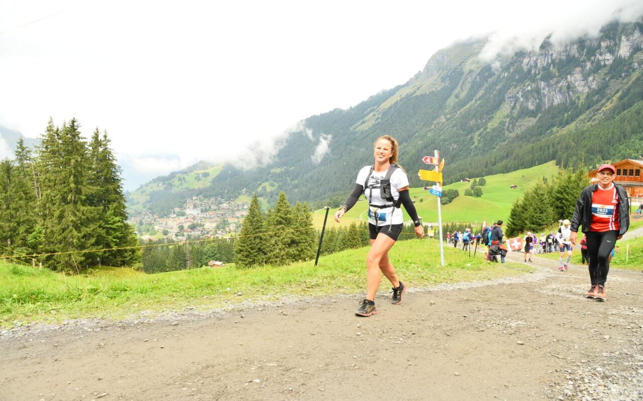 Afzien en genieten bij de Jungfrau Marathon voor Debbie van Kuijk
